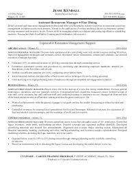 Cafe Manager Resume Assistant General Hotel Template Net Internet