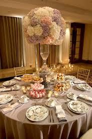Tall Romantic Wedding Centerpieces