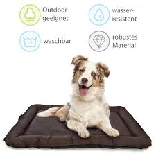 lazy bag hunde kissen hundebett indoor und outdoor hunde körbchen schlafplatz für hund katzen wasserfest abwischbar schmutzabweisend größe l