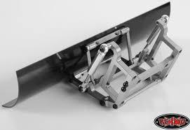 100 Rc Truck Snow Plow RC4WD Blade Fits SCX10 TF2 METAL Plough Bulldozer Shovel ZX0007