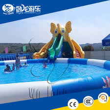 Inflatable Pool Slides For Inground Pools Water Pool Slides For