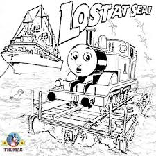 Thomas The Train Free Coloring Pages 798
