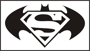 Superman Logo Coloring Pages Tribal