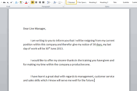 how to write a resignation letter to your boss Savesa