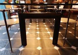 le corbusier lc 6 tisch glas ohne stühle esszimmer ebay