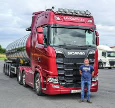 100 Crowley Trucking NZ Just Around The World Ian