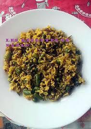 recette cuisine 3 recette de 3 riz au curcuma et légumes vert
