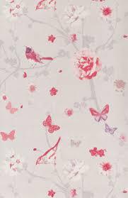 tapisserie chambre fille papier peint branche oiseau papier peint floral de