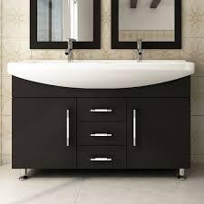 Wayfair Bathroom Vanities Canada by 48 Inch Vanity Celine 48 Double Bathroom Vanity Set Reviews