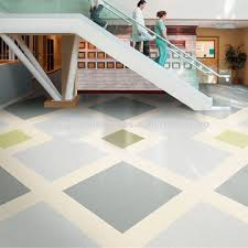 China High Quality PVC Homogeneous Vinyl Flooring Roll With Best Price For Hospital