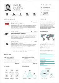Resume One Page Template Templates Download Free