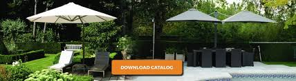 Offset Rectangular Patio Umbrellas by Large Cantilever U0026 Offset Patio Umbrellas Shadowspec Usa