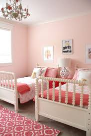 Coral Color Interior Design by Bedroom Splendid Wondeful Little Rooms Girls Shared Bedroom