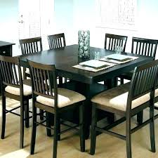 Dining Table Bench With Back Seats Black