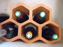 range bouteille en brique avec des briques le d aventurine