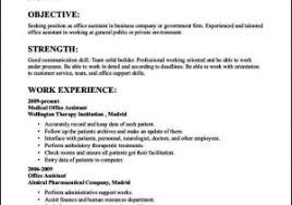Teen Job Resume From Examples Of Resumes