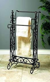 Wrought Iron Bathroom Accesories Accessory Black Red Accessories