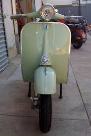 Vintage Vespa On Vbb