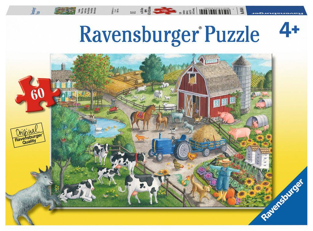 Ravensburger Puzzle - Home On the Range, 60pcs