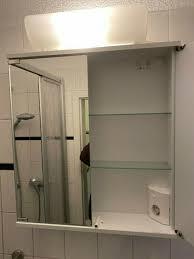 schnäppchen badezimmer spiegelschrank nagelneu np 125