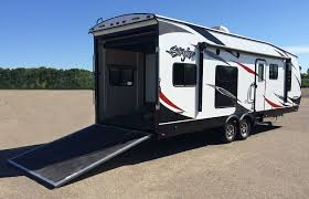 Toy Hauler RVs | RV Business Image From Httpwestuntyexplorsclubs182622gridsvercom For Sale Lance 855s Truck Camper In Livermore Ca Pro Trucks Plus Transwest Trailer Rv Of Kansas City Frieghtliner Crew Cab 800 2146905 Sporthauler Pdonohoe Hallmark Everest For Sale In Southern Ca Atc Toy Hauler 720 Toppers And Trailers Palomino Maverick Bronco Slide Campers By Campout 2005 Ford E350 Box Diesel Only 5000 Miles For Camplite 57 Model Youtube Truck Campers Welcome To Northern Lite Manufacturing Rentals Sales Service We Deliver Outlet Jordan Cversion 2015