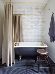 Small Bathroom With Clawfoot Tub Featured Rainfall Shower Head And ... Choosing A Shower Curtain For Your Clawfoot Tub Kingston Brass Standalone Bathtubs That We Know Youve Been Dreaming About Best Bathroom Design Ideas With Fresh Shades Of Colorful Tubs Impressive Traditional Style And 25 Your Decorating Small For Bathrooms Excellent I 9 Ways To With Bathr 3374 Clawfoot Tub Stock Photo Image Crown 2367914