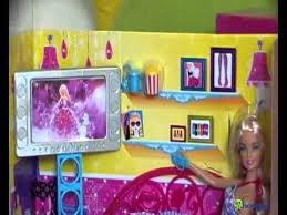 barbie couch living room furniture includes a doll youtube