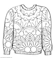 843x882 Ugly Sweater Coloring Page Pages For Adults Quotes