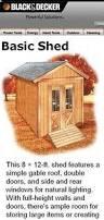 8x12 Storage Shed Blueprints by 10x16 Shed Plans Diy Shed Designs Backyard Lean To U0026 Gambrel