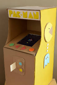 Cardboard Arcade DIY Pac Man Game