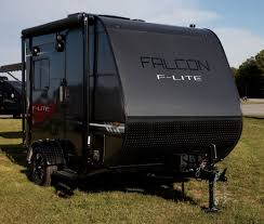 100 Ultralight Truck Campers Travel Lite Unveils New FLite Trailers And Falcon Fire Toy
