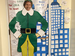 Easy Christmas Classroom Door Decorating Ideas by Christmas Classroom Door Decorations Buddy The Elf Spreading Cheer