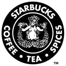 BUCKO 8 TM Original Starbucks Coffee Espresso Cafe Black And White Font Logo