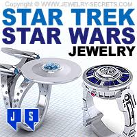STAR TREK – STAR WARS RINGS & JEWELRY – Jewelry Secrets