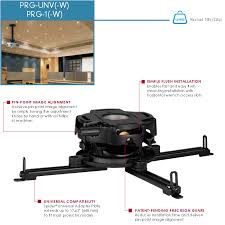Peerless Ceiling Mount Projector by Peerless Prg Unv Precision Gear Universal Projector Mount