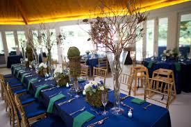 Royal Blue Organic Wedding