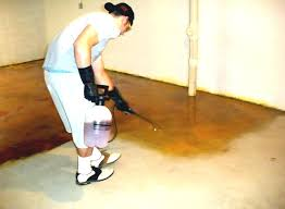 Concrete Flooring Ideas Basement Floor Do It Yourself For
