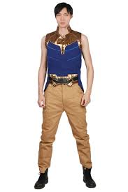 Amazoncom Infinity War Costume Thanos Halloween Outfit For Adult