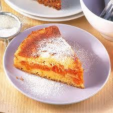 kürbis apfel kuchen mit eiercreme