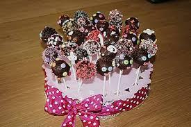 schokoladen cake pops
