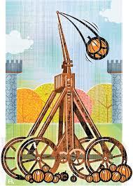 Pumpkin Chunkin Trebuchet World Record by Pumpkin Tossing Yankee Siege In Greenfield New Hampshire