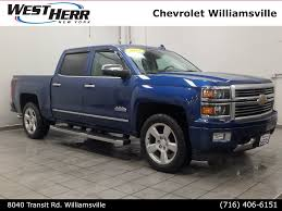 100 West Herr Used Trucks PreOwned 2015 Chevrolet Silverado 1500 High Country 4D Crew Cab In
