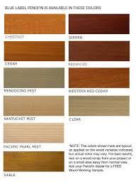 premium blue label wood stain penofin
