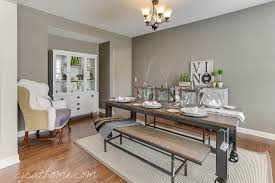 Industrial Home Decor Dining Room Handmade Custom Built Within Applying