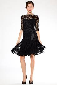 black lace dress black lace cocktail dress with sleeves teri