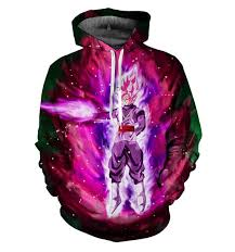 Dragon Ball Z Fish Tank Decorations by Black Goku Rose Dragon Ball Z Hoodie U2013 Jakkou U2020 U2020hebxx