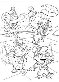 Little Einsteins Be A Marching Band Coloring Picture For Kids