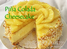 Pi±a Colada Cheesecake Gretchen s Bakery