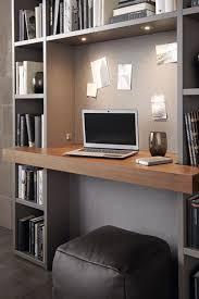 perfekt integriert das mini büro im wohnzimmer mehr ideen