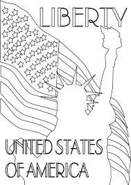 World Map Coloring Page For Kindergarten Day C Pages All Ages In Patriot United States Of